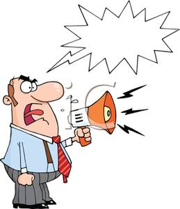 angry manager clipart - photo #17